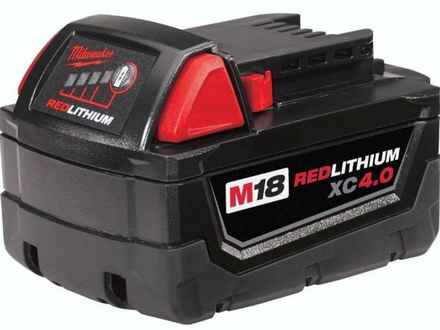 [48-11-1840]Milwaukee 48-11-1840 M18 REDLITHIUM XC 4.0 Extended Capacity Battery Packバッテリーセル交換