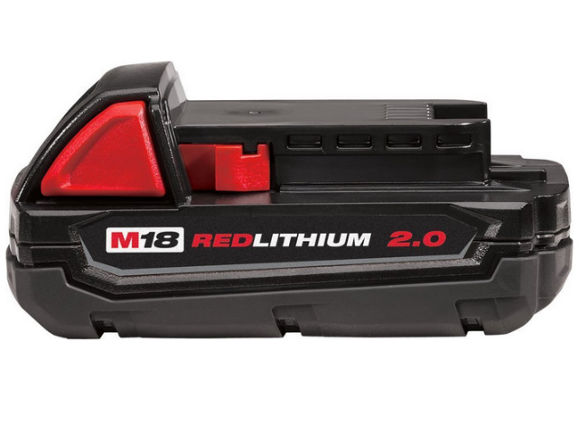 [48-11-1820]Milwaukee 48-11-1820 M18 REDLITHIUM 2.0 Compact Battery Packバッテリーセル交換