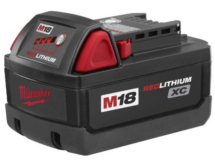 [48-11-1828]Milwaukee 48-11-1828 M18 XC RED LITHIUM 18-Volt Lithium-ion Cordless Tool Batteryバッテリーセル交換