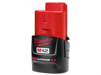 [48-11-2420]Milwaukee 48-11-2420 M12 REDLITHIUM 2.0 Compact Battery Packバッテリーセル交換