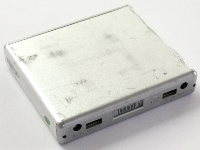 [MBP1.5-060]Hyperjuice1.5 60Wh External Battery for MacBooks/USB Devices - Silverバッテリーセル交換
