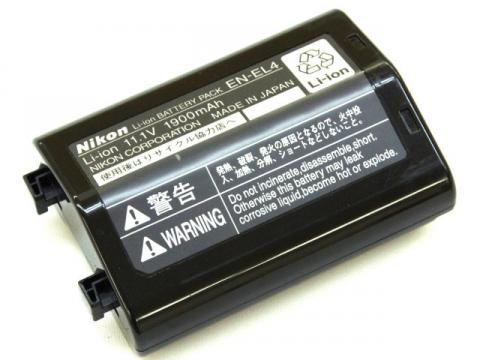 【アイテムキューブ】その他 | [EN-EL4]NIKON カメラバッテリーセル交換
