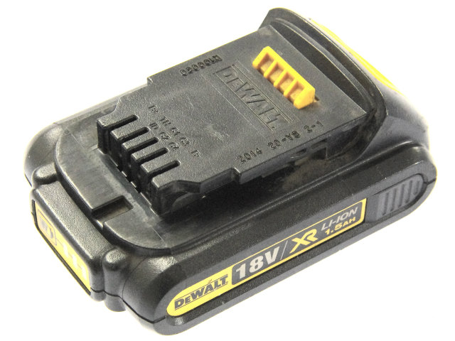 [DCB181]DEWALT 18V 1.5Ah Li-Ion Battery Pack バッテリーセル交換