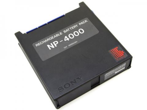 [NP-4000]SONY TCD-D10 DAT録音機バッテリーセル交換