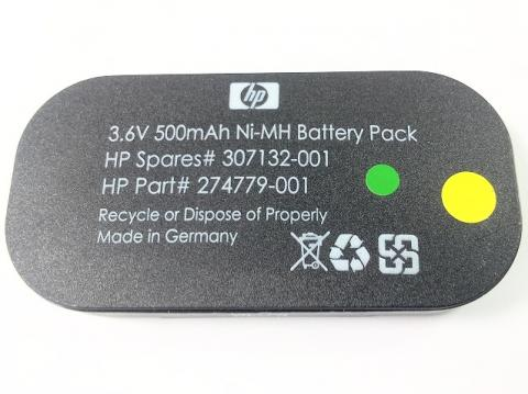 [HP Spares# 307132-001、HP Part# 274779-001]HPサーバー DL360 G4他バッテリーセル交換